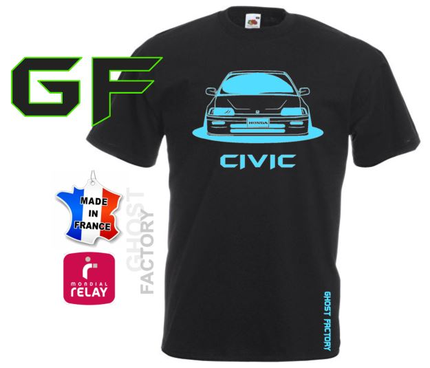 T-SHIRT GHOST CIVIC