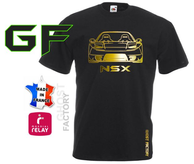 T-SHIRT GHOST NSX