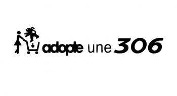 Stickers adopte une 306